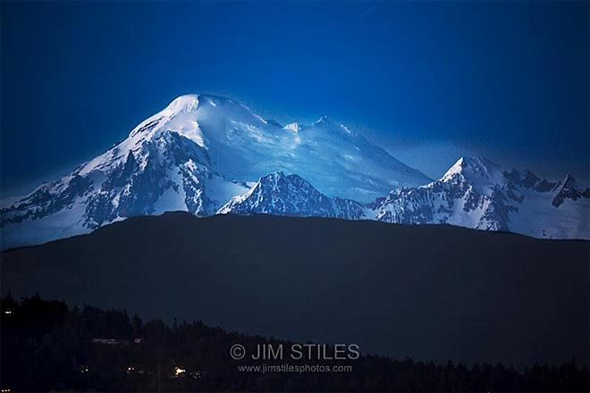 Mount Baker as seen from Anacortes, Washington (Photo: Jim Stiles)