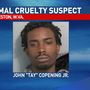 Charleston animal cruelty suspect turns himself in to police