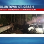 Police investigate serious crash in Voluntown, Conn.