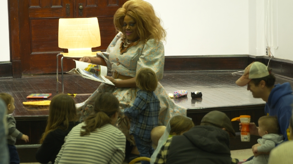 Drag queens are reading books to kids to help fight gender stereotypes