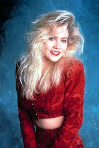 "Christina began working in TV as an infant in commercials. But it wasn%u2019t until the age of 15 that Applegate hit the big time when she was cast as ditzy blonde daughter Kelly Bundy on ""Married... with Children."""