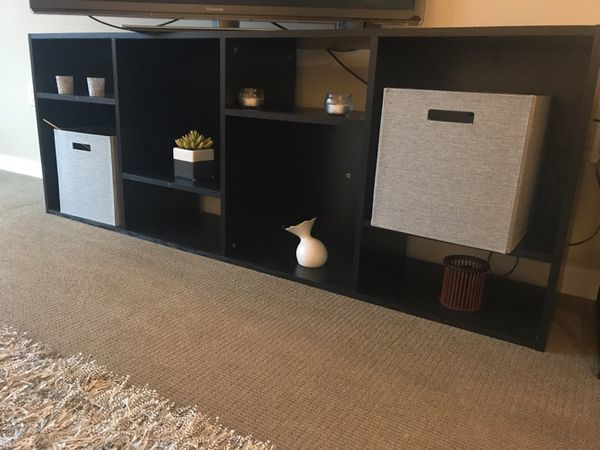 TV stands! The average price of a TV stand in Seattle is $74. Multi-purpose TV stands are always a hot ticket item but you will net almost more than 50 percent more now than they will if you sell them this fall (Image courtesy of OfferUp).