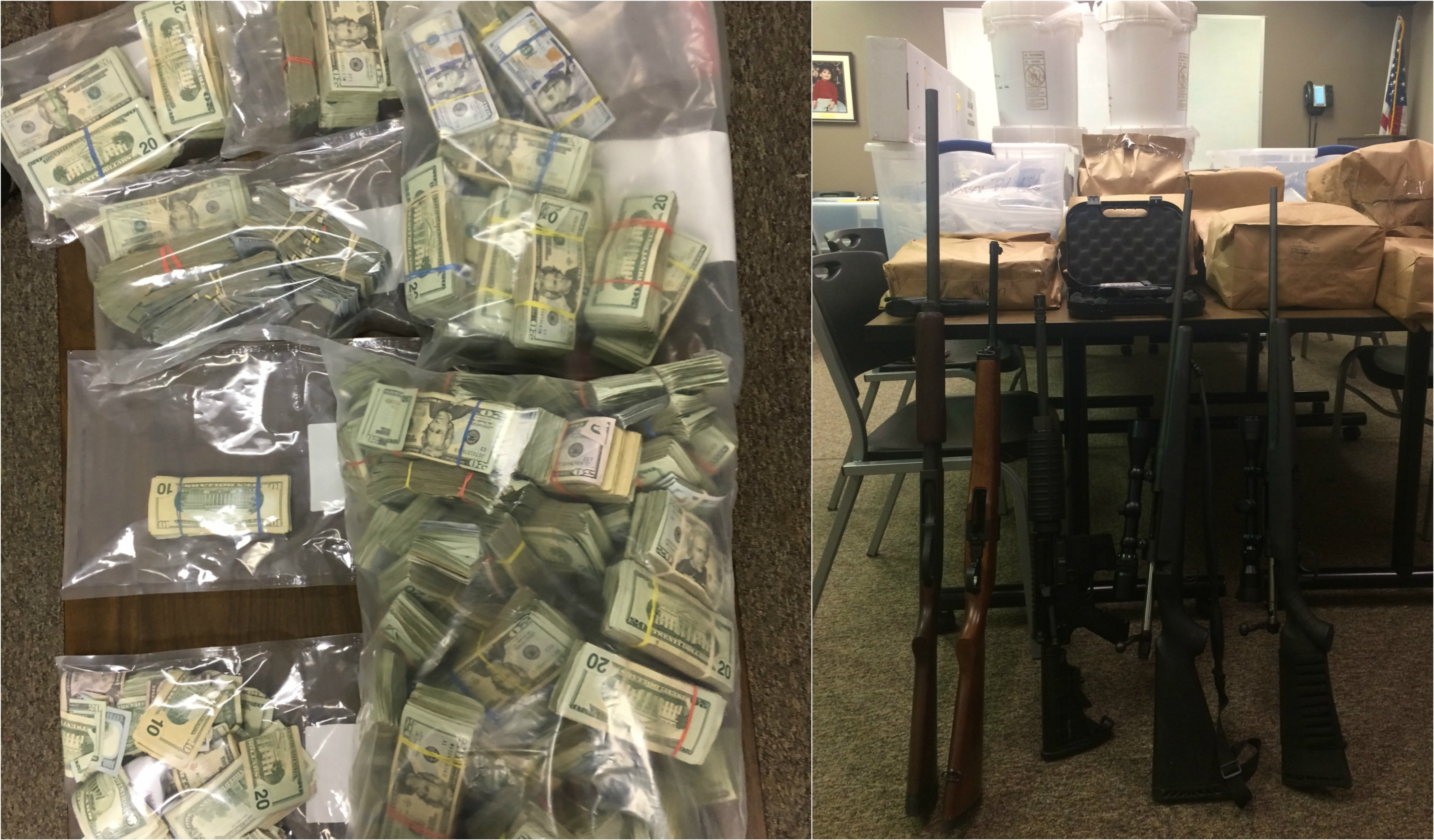 What began as an investigation into a Nebo man's drug activity has led local, regional, state and federal authorities to dozens of suspects in a massive narcotics conspiracy that spanned from McDowell County to California. (Photo credit: McDowell County Sheriff's Office)