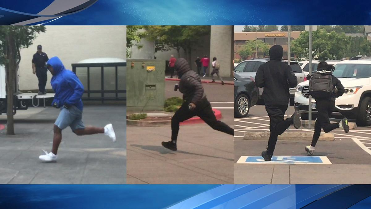 Suspects run from Washington Square Mall - Images from Gygii Gam.jpg