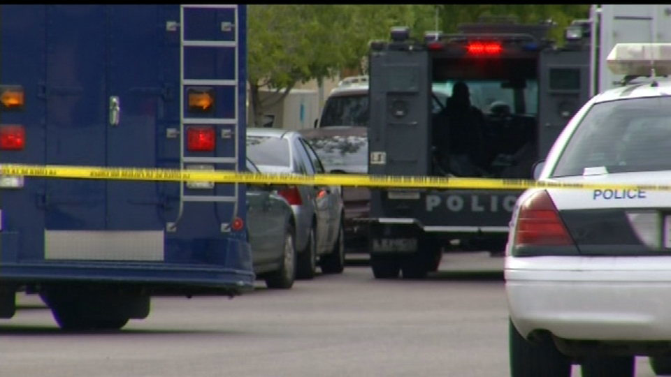 SWAT standoff ends with arrest of 18-year-old man in far east El Paso.