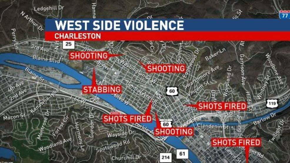 Police West Side of Charleston sees spark in violence over the