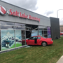 Car smashes through windows at Salt Lake Running Company