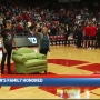 Police officer's family honored at UD basketball game