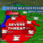 Jim Caldwell's Forecast | Severe weather threat leads off our wet weekend
