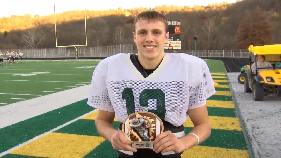 Week 10: Hancock County Chrysler Dodge Jeep Ram/WTOV9 Player of the Week, Justin Loughrie