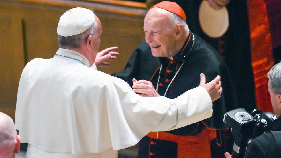 Pope Francis and Cardinal Theo McCarrick AP91.jpg