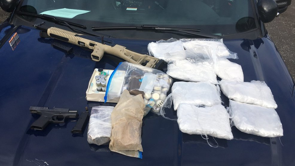 Police find 10 lbs. of drugs, two guns during East Portland traffic stop