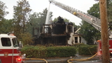 Fire destroys Victorian home in Taunton
