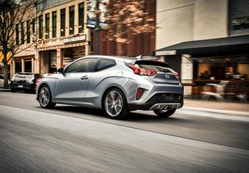 2019 Hyundai Veloster recalled to fix doors that may open during crash