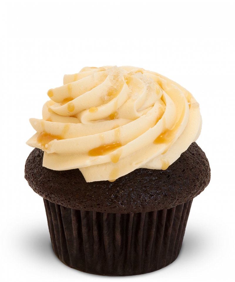 Salted Caramel Cupcake{ }(Photo: Trophy Cupcakes)