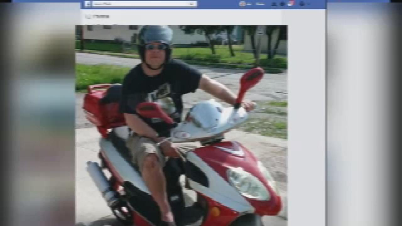Jason Clark was killed after he was involved in a crash while riding his scooter and then a 2nd driver ran over his body (Courtesy: Family members)<p></p>