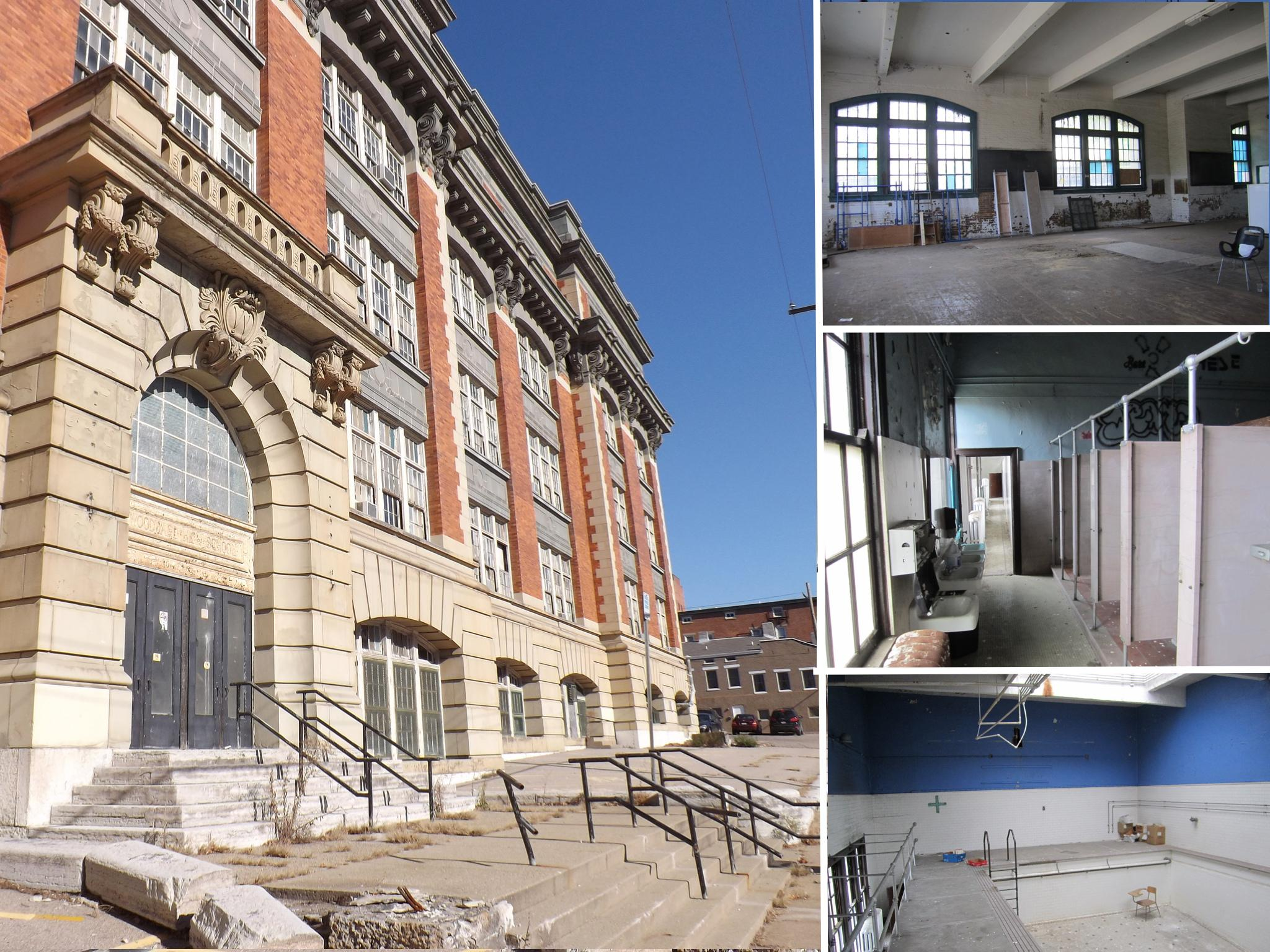 ALUMNI LOFTS (Before) / ADDRESS: 1310 Sycamore Street (45202) / CREDIT: $5,000,000 / PREVIOUSLY: School for Creative & Performing Arts, and before that, Woodward High School / Images courtesy of the Ohio Department of Taxation, CC by 2.0, with changes // Published: 5.20.17