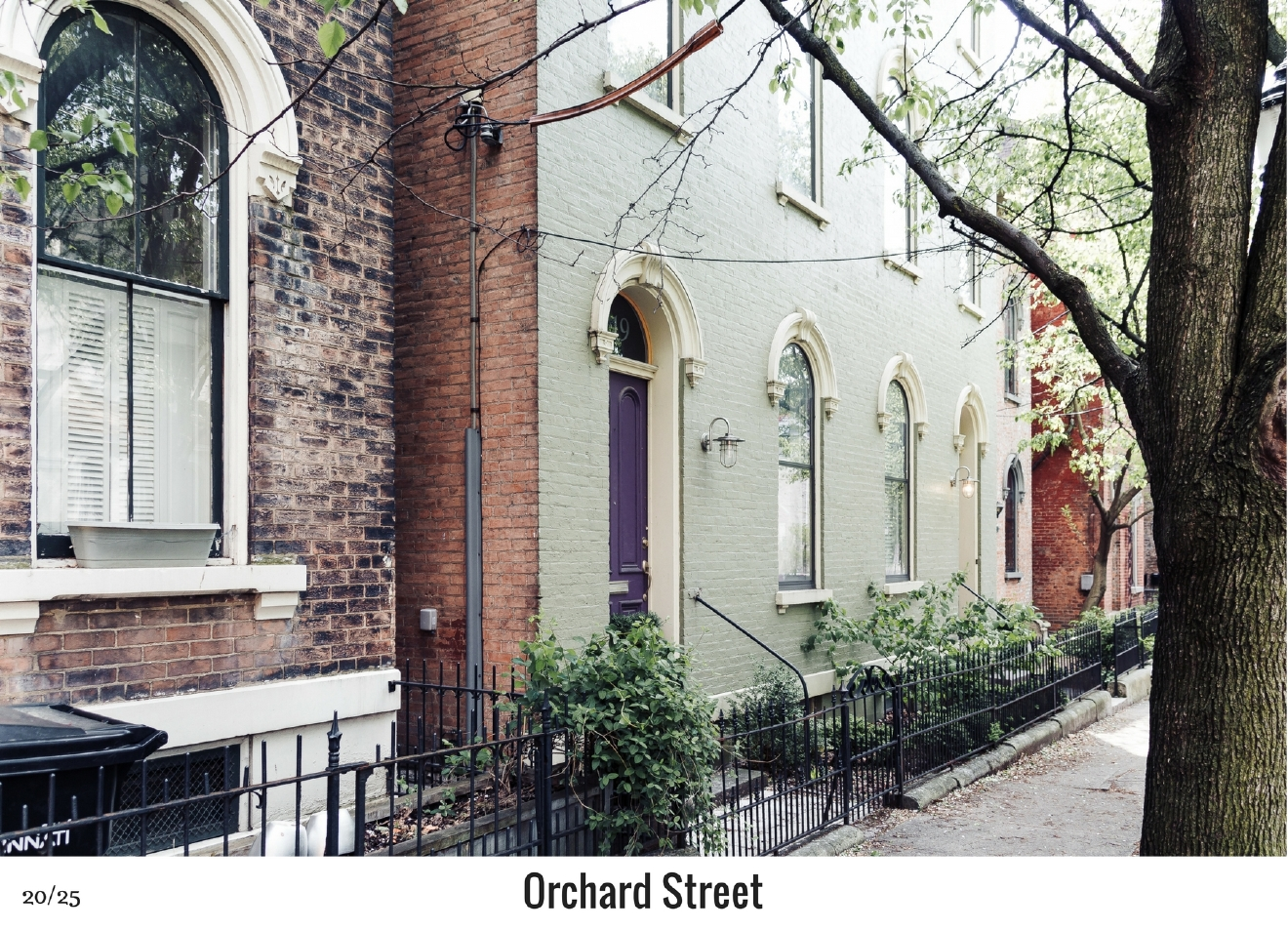 WHAT: Orchard Street / WHERE: Over-the-Rhine, between Main and Sycamore Streets / Image: Justin Kohl / Published: 10.27.16