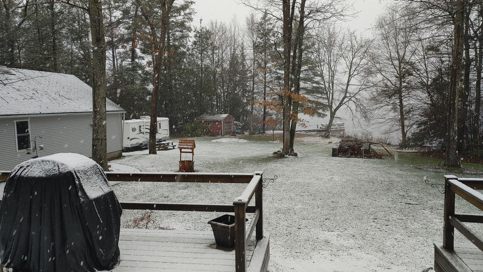 Gallery: April snow for some
