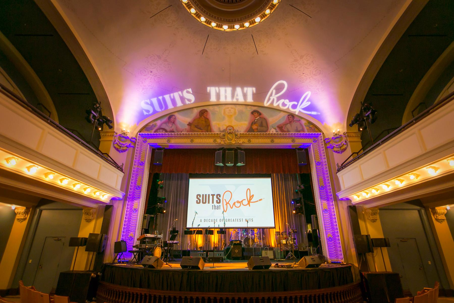 Suits That Rock is an annual rock concert at The Carnegie in Covington featuring performances by 40 prominent business and community leaders. Proceeds from the concert go on to benefit The Carnegie's children's education programs. These photos are from the June 17, 2017 show. There will be another show next Saturday on June 24 at 8pm. / Image: Mike Bresnen Photography // Published: 6.18.17