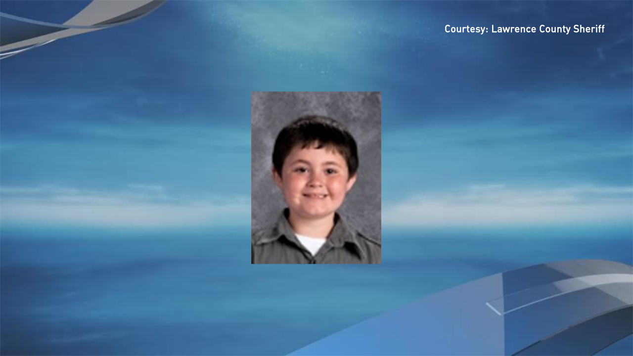 <p>The body of 7-year-old Devin Holston was found inside the home Thursday morning. He'd initially been reported missing, and the Sheriff said it appeared his body had been hidden (Lawrence County Sheriff's Office)</p>