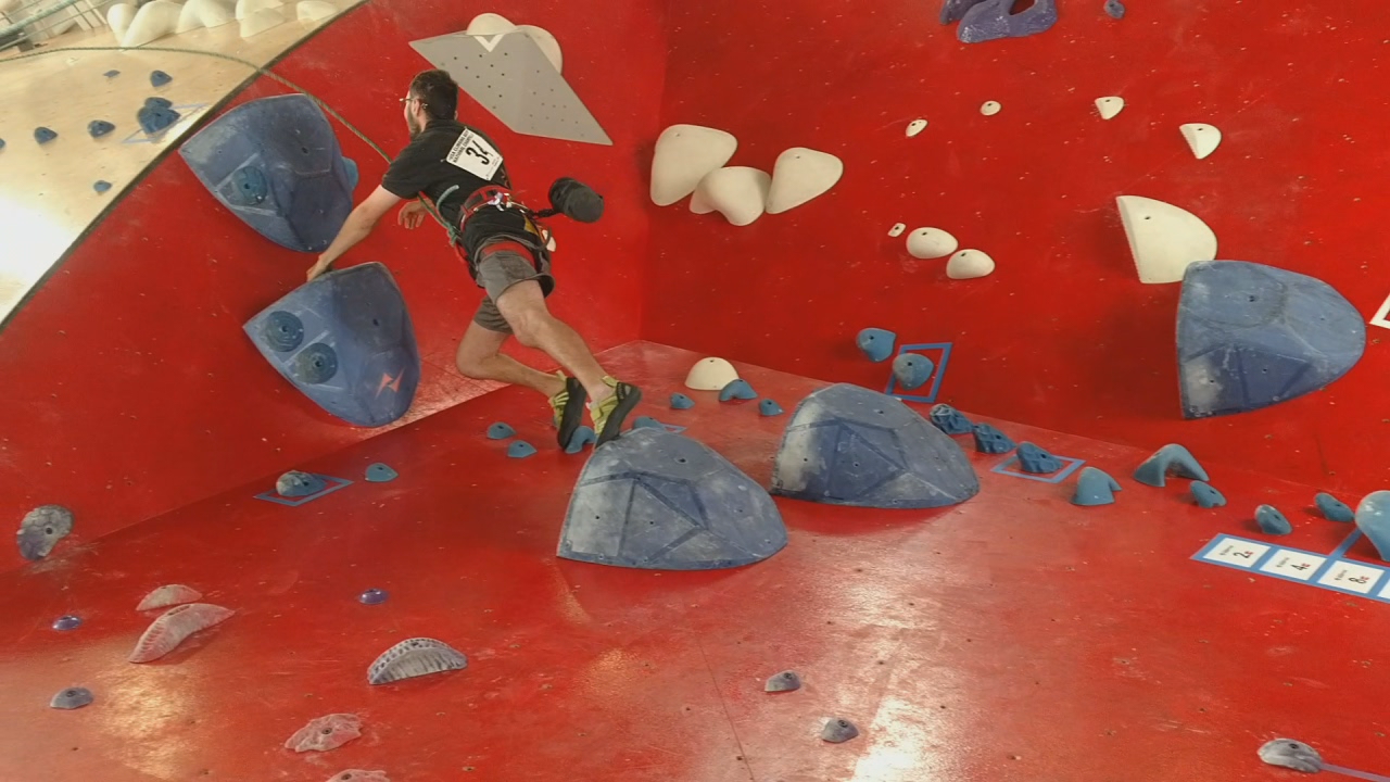 Keith Warrick's skill and passion for climbing have given him a sense of freedom. (WSYX/WTTE)