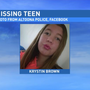 Police seek missing 17-year-old girl
