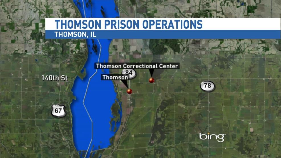 Thomson Illinois Map.Thomson Prison On Track To Open Next Year Wics