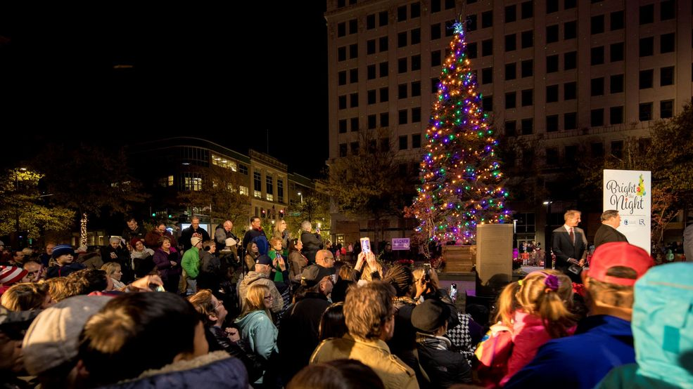 little rock prepares to bright the night at citys downtown christmas tree lighting - On This Night On This Very Christmas Night