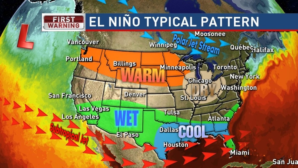 El Nino Watch Issued For Fall Winter What Does That Mean Ktul