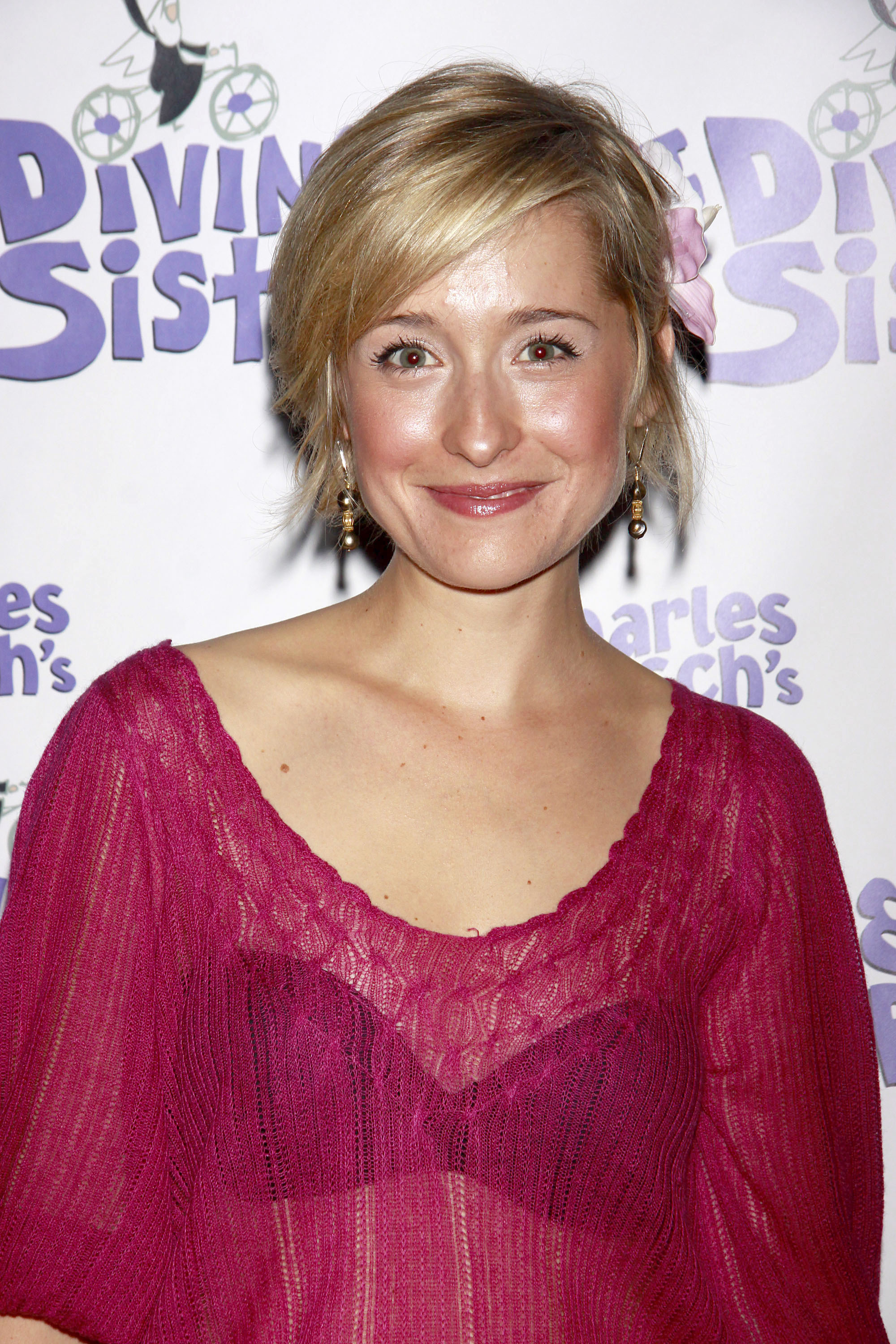 Allison MackThe opening night of the Off-Broadway production of 'Charles Busch's The Divine Sister' at the Soho Playhouse - ArrivalsFeaturing: Allison MackWhere: New York City, United StatesWhen: 22 Sep 2010Credit: WENN