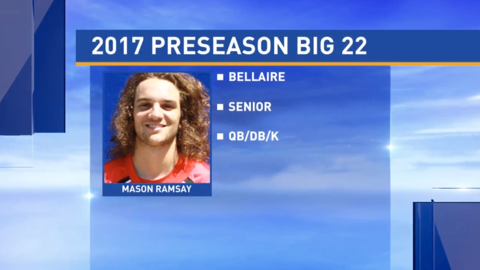 Preseason Big 22 Profile - Mason Ramsay, Bellaire