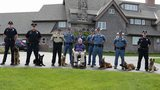 Former President Bush meets next class of Maine police K-9s
