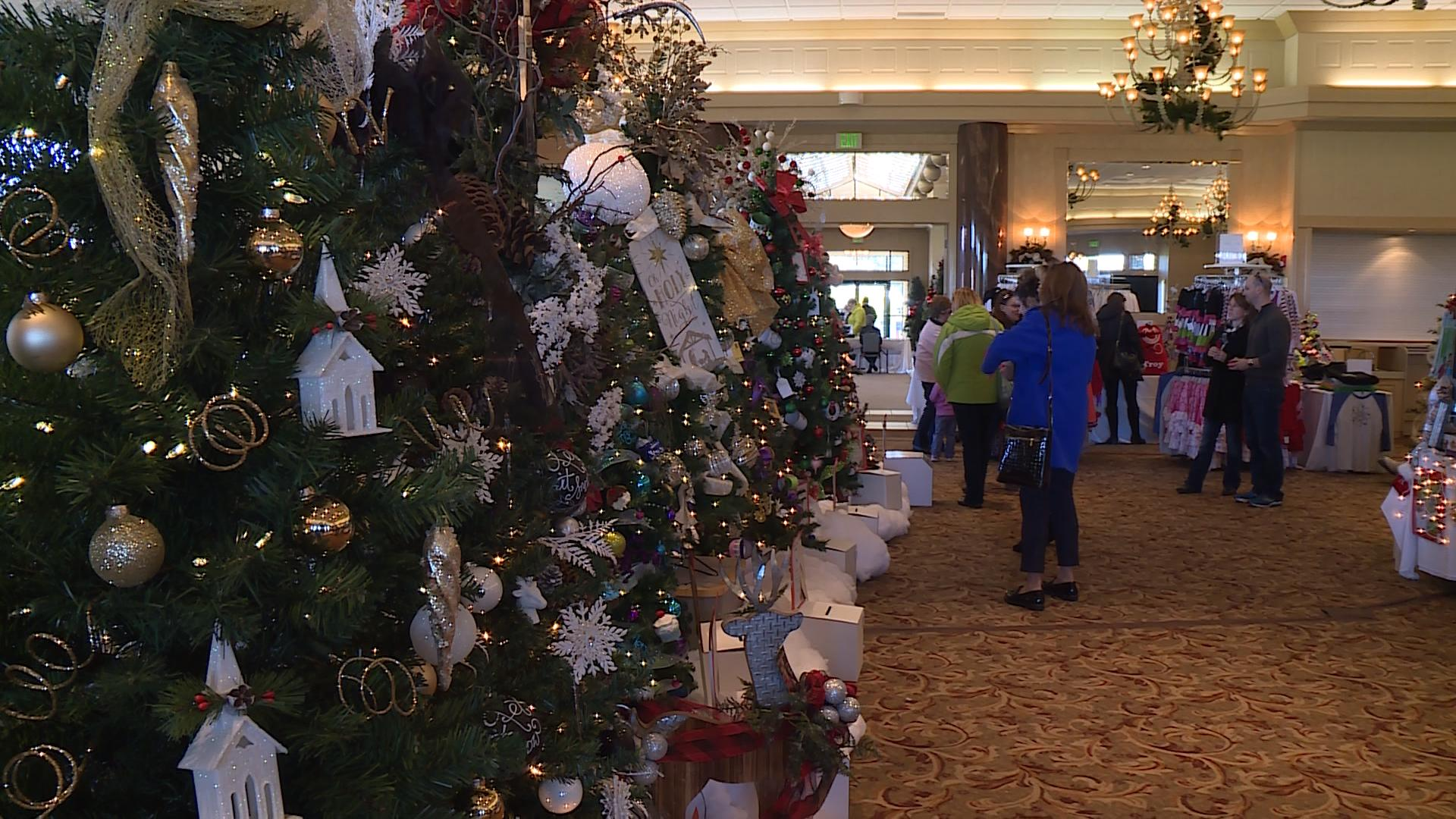 The Festival of Trees event at Apple Mountain kicked off Friday at Apple Mountain in Freeland. (Photo Credit: Andrew Fergerson){ }