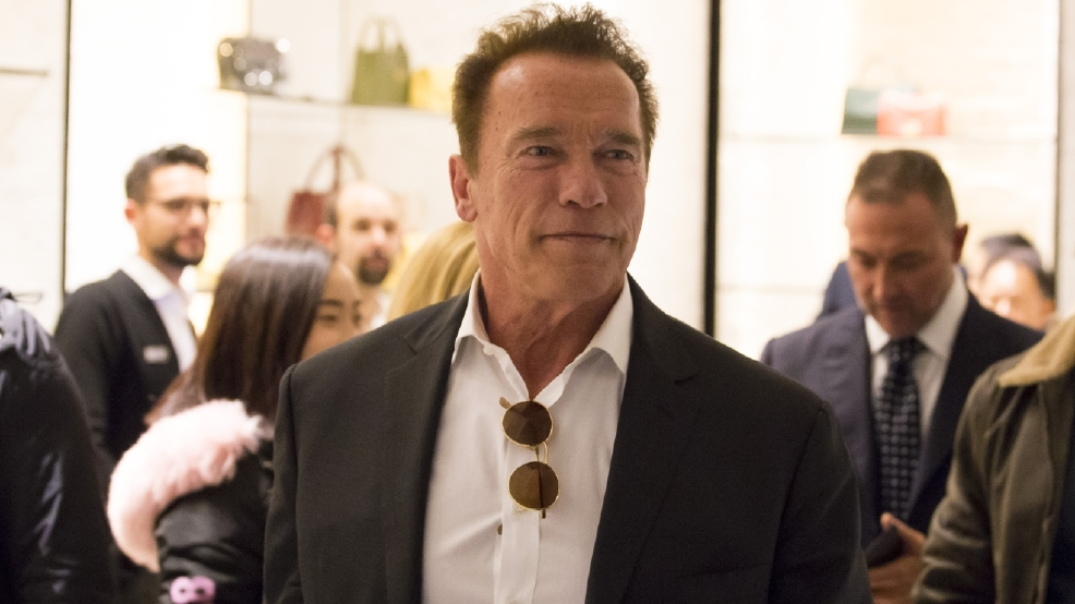 Arnold Schwarzenegger: 'I think Donald Trump is in love with me'