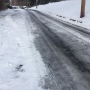 Icy side roads frustrate residents