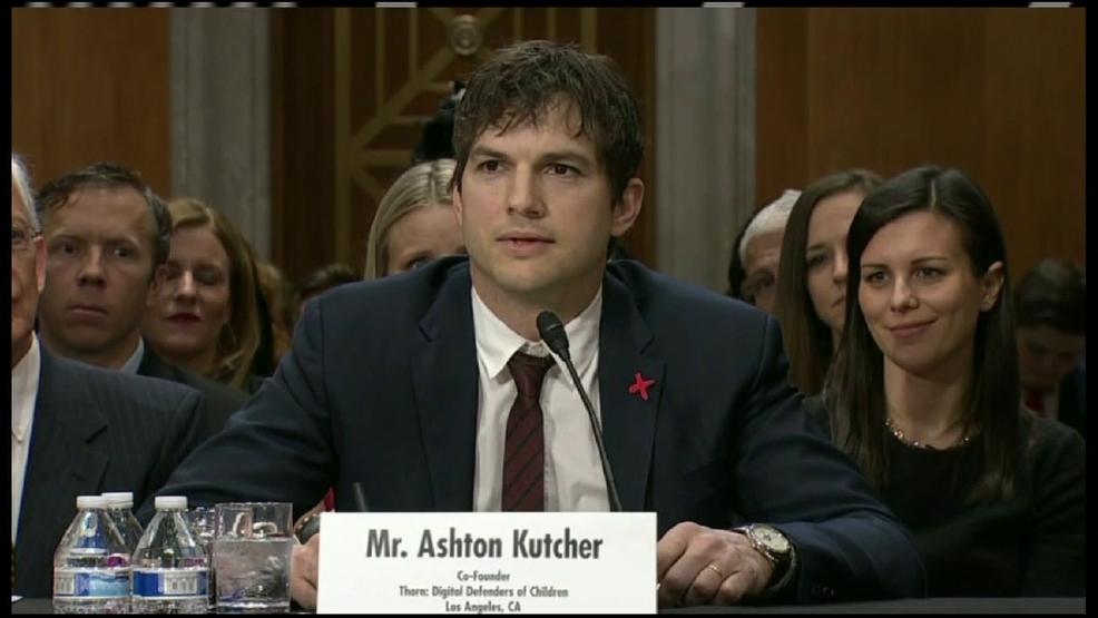 Ashton Kutcher testifies to Congress to act on ending ...