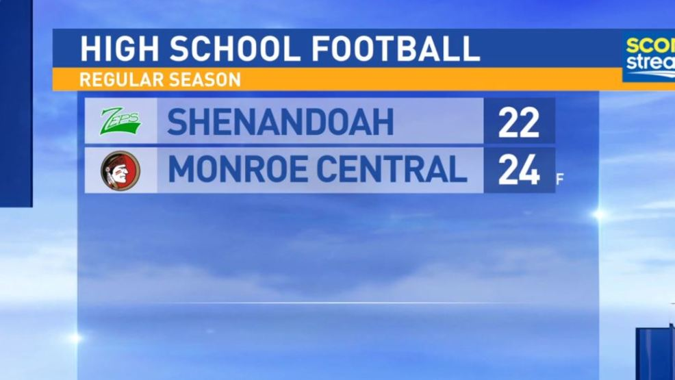10.6.17: Shenandoah at Monroe Central