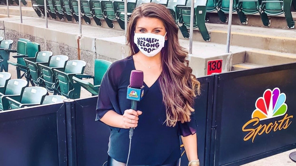 'I prayed for this.' Jessica Kleinschmidt fulfills dream of covering MLB