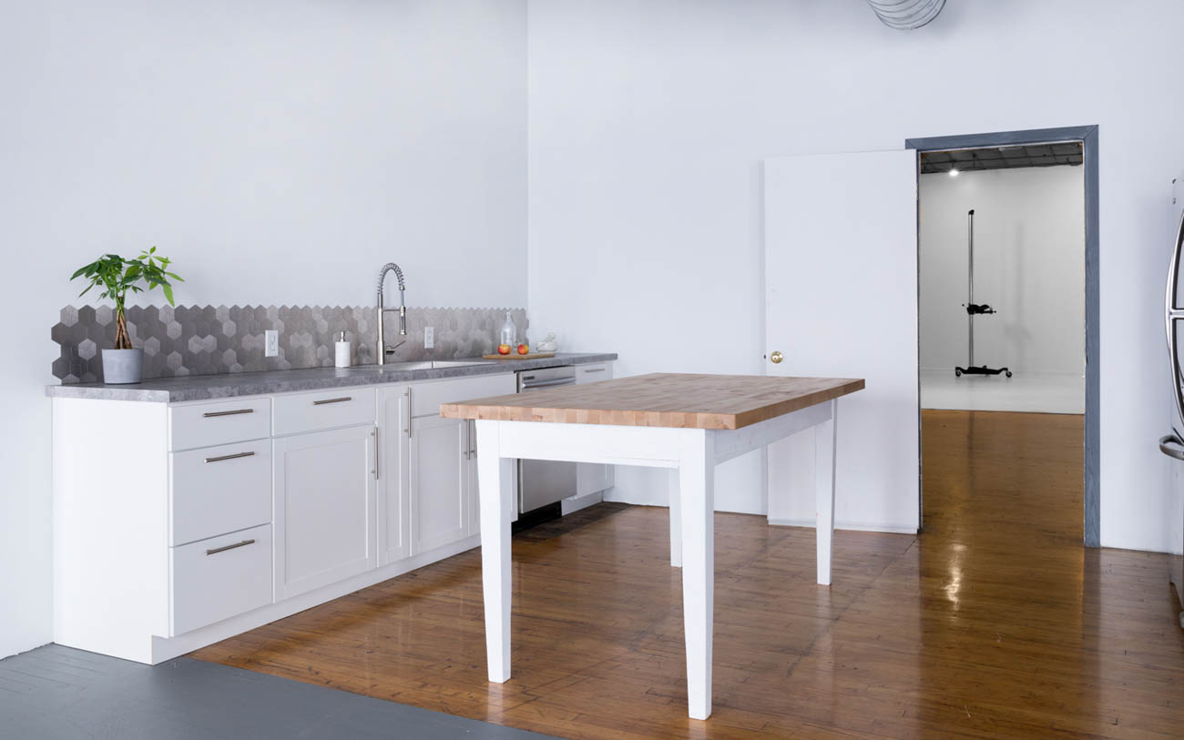 { }Photo of the kitchen after the renovation / Image: Marlene Rounds // Published: 7.6.19