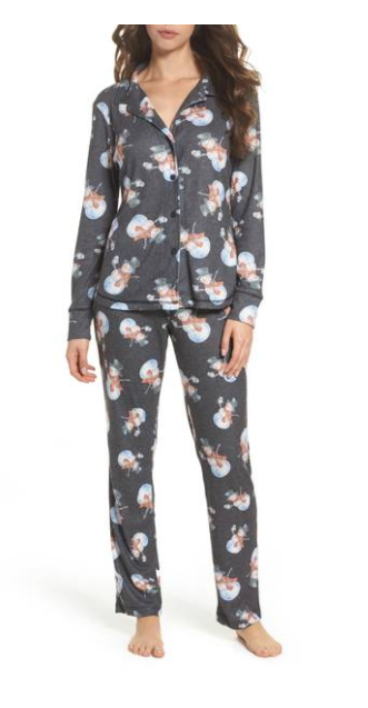 Clara Flannel Pajamas from LOVE + Grace, $102 (Image courtesy of Nordstrom).<p></p>