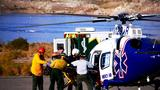 Seven injured after two-vehicle crash in Lake Mead National Recreation Area