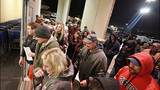 Black Friday shoppers get a jump on the holiday sales at Valley River Center