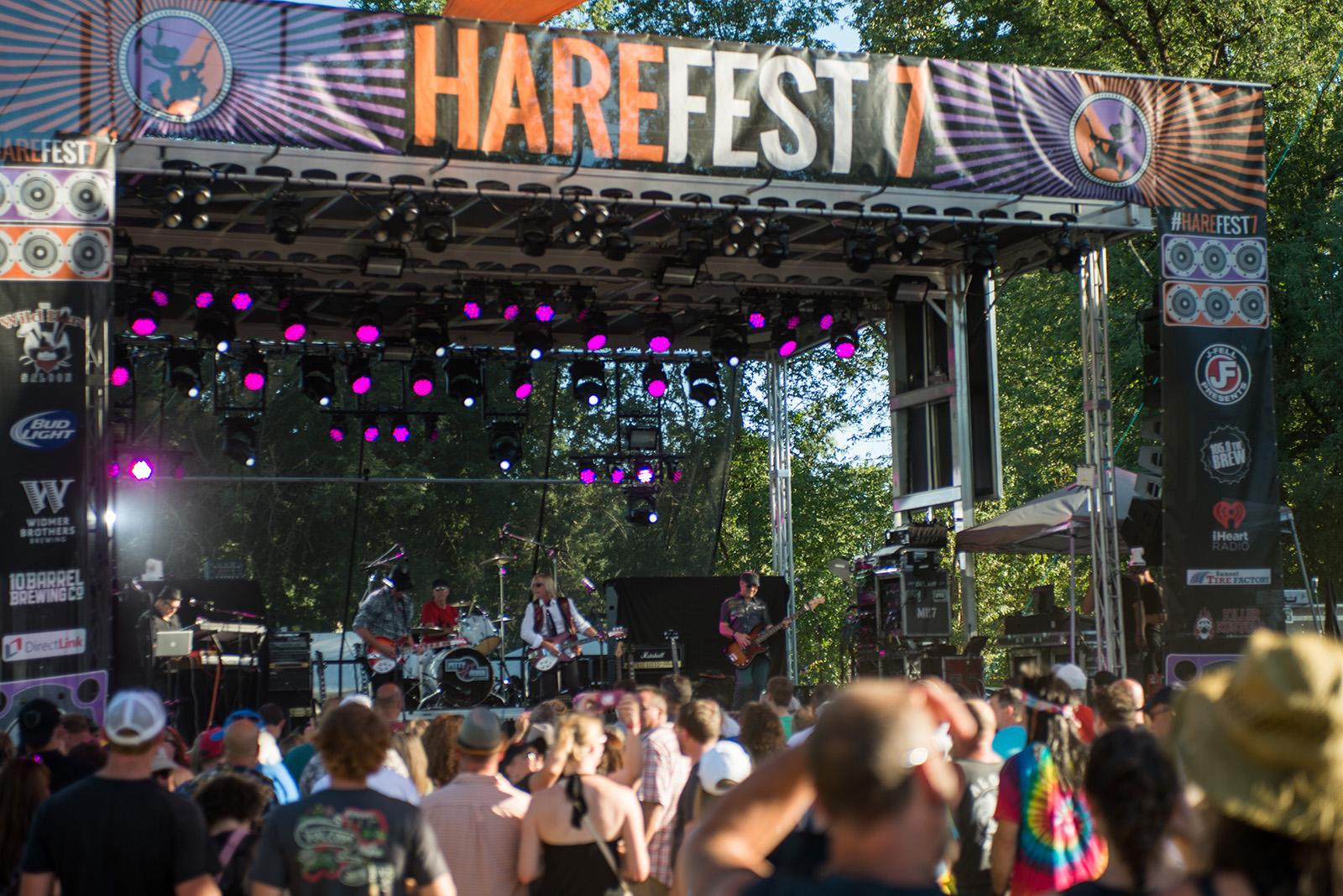 Harefest, the Pacific Northwest's largest tribute band festival, is a two-day event near Canby that lets fans relive their favorite musical acts with incredible cover artists. The festival is now in its 7th year and boasts several big name tribute acts. (KATU News photo taken July14, 2017 by Tristan Fortsch)