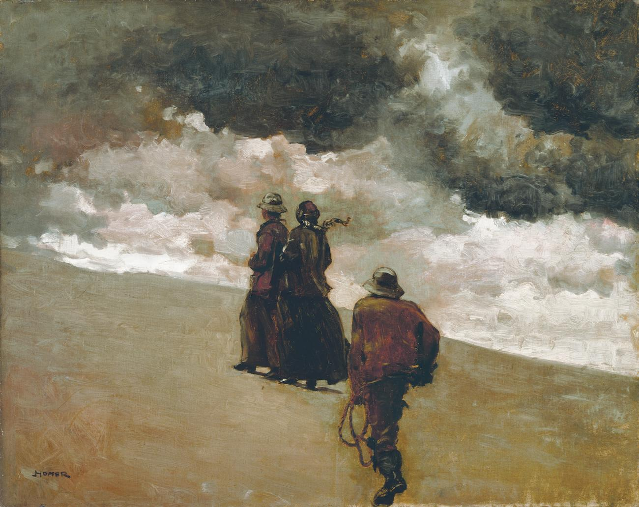 'To the Rescue' (1866) by Winslow Homer / Image courtesy of the Taft Museum of Art // Published: 5.1.19