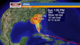 Irma remains Cat 3 hurricane, Walton County under tropical storm warning
