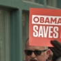 Protesters Share Their Obamacare Message At Rep. LaHood's Office