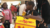 North Carolina airport passengers get fast food surprise