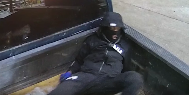 Photo of one of the robbers in the 7-Eleven ATM machine burglary from Jan. 19 in Northwest D.C.  Wednesday, March 7, 2018 (Metropolitan Police){&amp;nbsp;}<p></p>