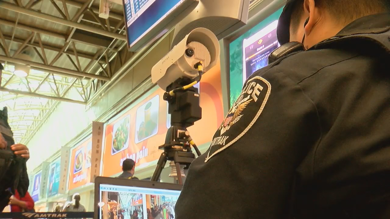 TSA tests new bomb detection technology at Union Station (ABC7)